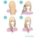 ヘアアイロンで巻き髪をキレイに作る方法&アレンジ3パターン