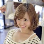 「触覚女子」は横髪がポイント!ひし形シルエットで黄金バランス♪