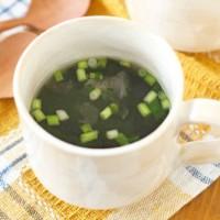 飲み過ぎてお疲れなカラダに♪疲労回復!マグカップスープ