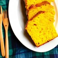 ホットケーキミックスと混ぜるだけ!「かぼちゃケーキ付きワンプレート」