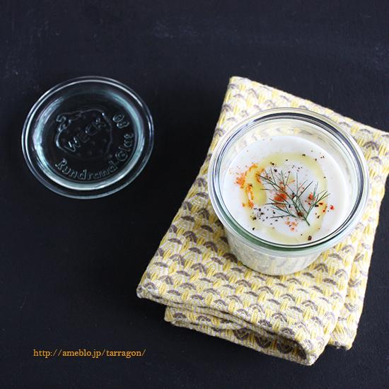 里芋と長ネギのポタージュ のコピー