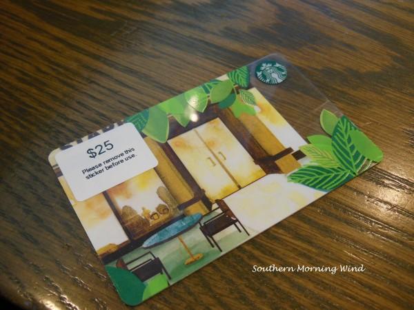 B.D Starbucks gift