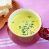 ミキサーいらず!作り置き「スープの素」なら2分でかぼちゃとろ〜り♪