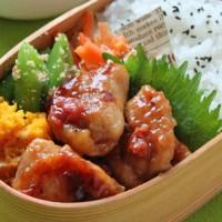 食欲がない日もご飯がすすむ♪「鶏の梅照り焼き」のお弁当