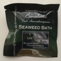 人生を変える!? 北カリフォルニア発 海藻の入浴剤で朝風呂