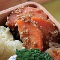 旬の冬野菜で作り置き!「にんじんのごま味噌」のお弁当