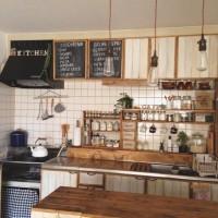 朝支度が楽しくなる!人気のカフェ風キッチン集めました♪