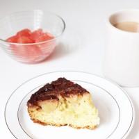 朝食用にりんごがゴロゴロ入ったアップルケーキ!焼いてみました