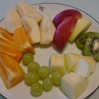 朝のフルーツ + ルールモンド in Netherland