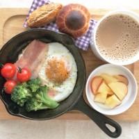 卵料理にホットケーキにリゾットに!スキレット朝食バリエ5例