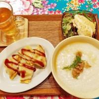 【大阪・アメリカ村】ポップで可愛い!台湾のお粥モーニング@味庵茶坊