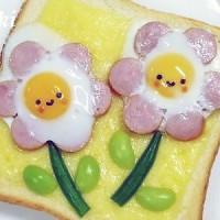 春分の日は卵の日♪可愛い「お花モチーフ」の卵レシピ4選