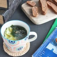 朝5分で満腹♪春雨とわかめの具だくさんマグカップスープ