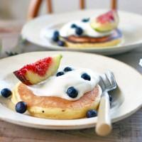 おうちで簡単ふわふわっ!スフレみたいなパンケーキレシピ