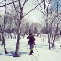 雪山トレッキングとYoga
