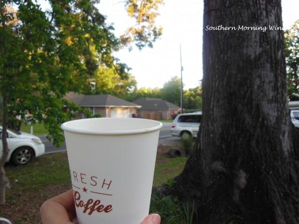 yard sale coffee