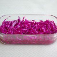 ワンプレごはんやお弁当に♡「紫キャベツのマリネ」の作り置き