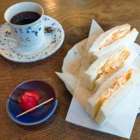 【神戸・三ノ宮】とろとろ半熟が絶妙!たまごサンド@カフェ・バール こうべっこ