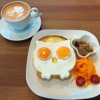 【神戸・みなと元町】ふくろうトーストに会いたい!@ラウンドポイントカフェ