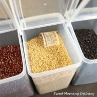 発芽玄米と黒米、赤米 in シアトル