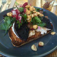 朝食にぴったり!トーストでも季節感を出せます! @a cafe in Melbourne。