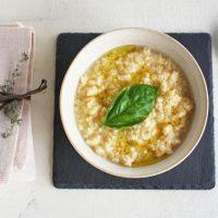5分でイタリアン!卵とチーズのふんわりかきたまスープ