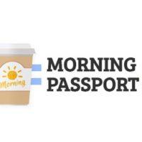 朝時間.jp限定★朝カフェがお得な「モーニングパスポート」スタート!