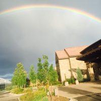 虹の大きさ