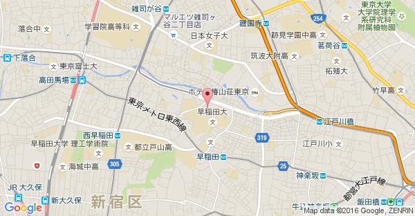 Google Map of 東京都新宿区西早稲田1-9-12 大隈スクエアビル1F