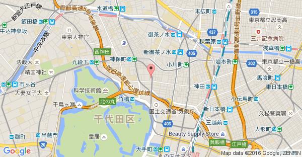 Google Map of >東京都千代田区神田錦町3-20 錦町トラッドスクエア1F