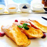 フレンチトーストと、サンドイッチ系が充実のラウンジ朝食☆【ウェスティンホテル】