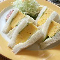 【京都・東山】ふわふわツルンの卵が絶妙♪「やまもと喫茶」の焼たまごサンド