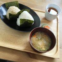 【京都・嵐山】musubi cafeで大きなおむすびモーニング