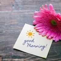 一日をハッピーに過ごすための朝習慣♪「ひとこと朝宣言」をはじめよう!