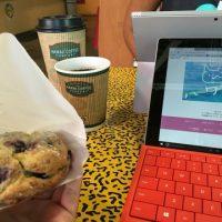朝カフェで、プロダクティブな時間!
