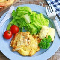 薄切り肉が簡単おしゃれにボリュームアップ!「豚肉のチーズピカタ」