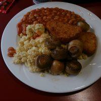 ロンドン・学食での朝ごはん