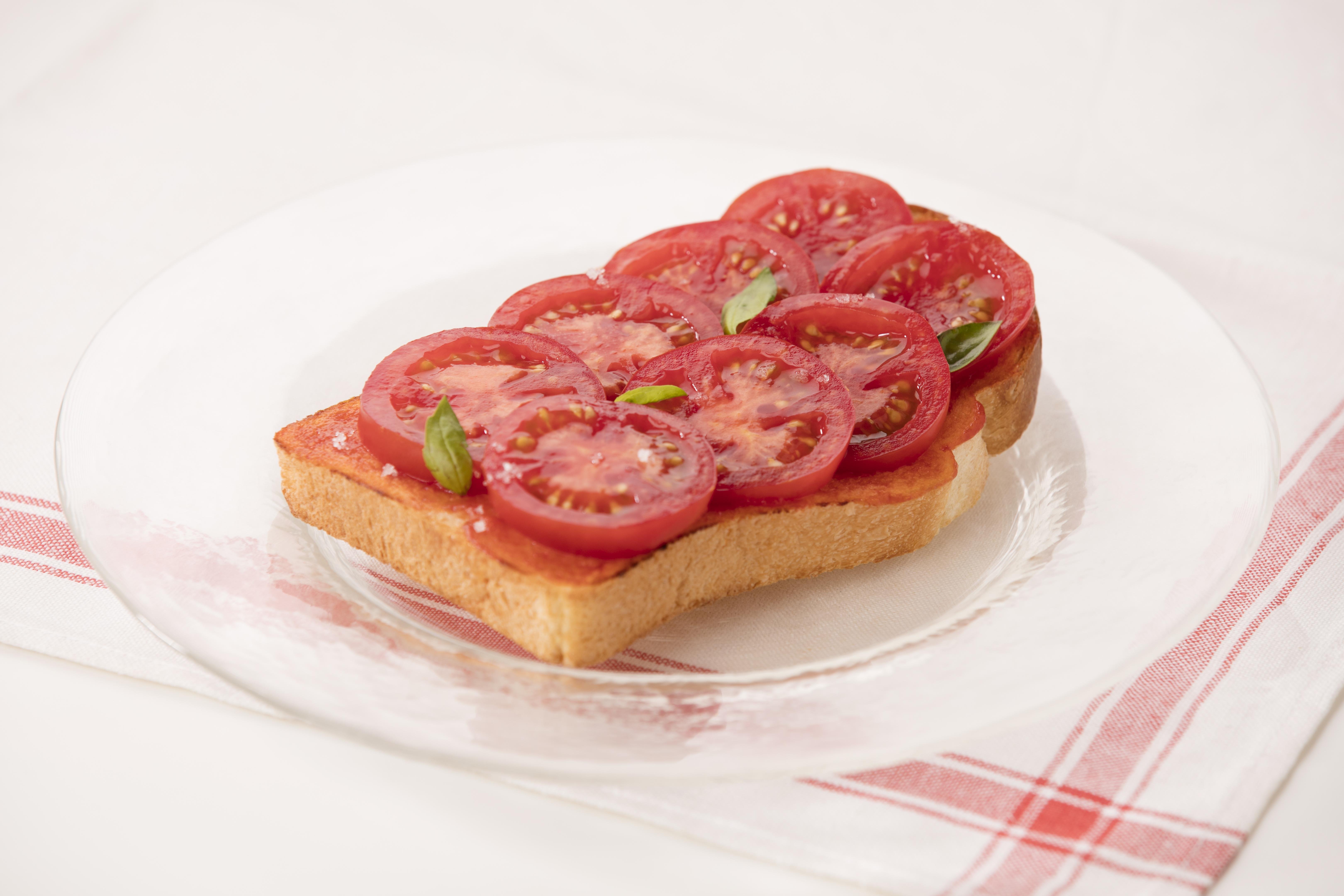 【8月店レシピ】トマトトマト!トースト