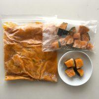 秋冬バージョン!朝の時短に便利すぎる「自家製冷凍カット野菜」
