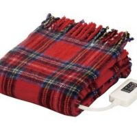 暖房代もグッと節約!丸ごと洗える「電気ひざ掛け毛布」