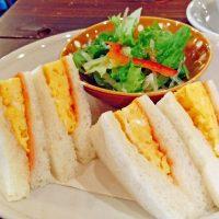 【大阪・長居公園】コスパも◎!ほかほか優しいタマゴサンド@cafe glue(カフェグルー)