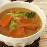 冷える朝はほかほかヘルシー!具だくさん「食べるスープ」5選