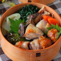 放っておくだけ!味噌だれ付き「鶏と野菜のグリル焼き」のお弁当