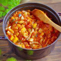 アレンジ自在!毎朝ラクできる作り置き♪「秋冬野菜のラタトゥイユ」