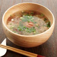 熱湯注ぐだけで体ぽかぽか♪沖縄の即席汁「カチューユー」