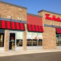 カナダのコーヒーショップ、Tim Hortons
