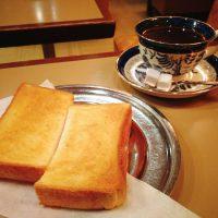 【京都】老舗喫茶の厚切りトーストモーニング@六曜社 珈琲店
