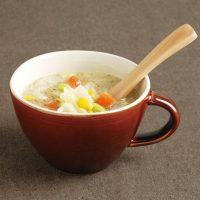 シンプルあたたかい雰囲気が魅力♪「キントー スープカップ ほっくり」
