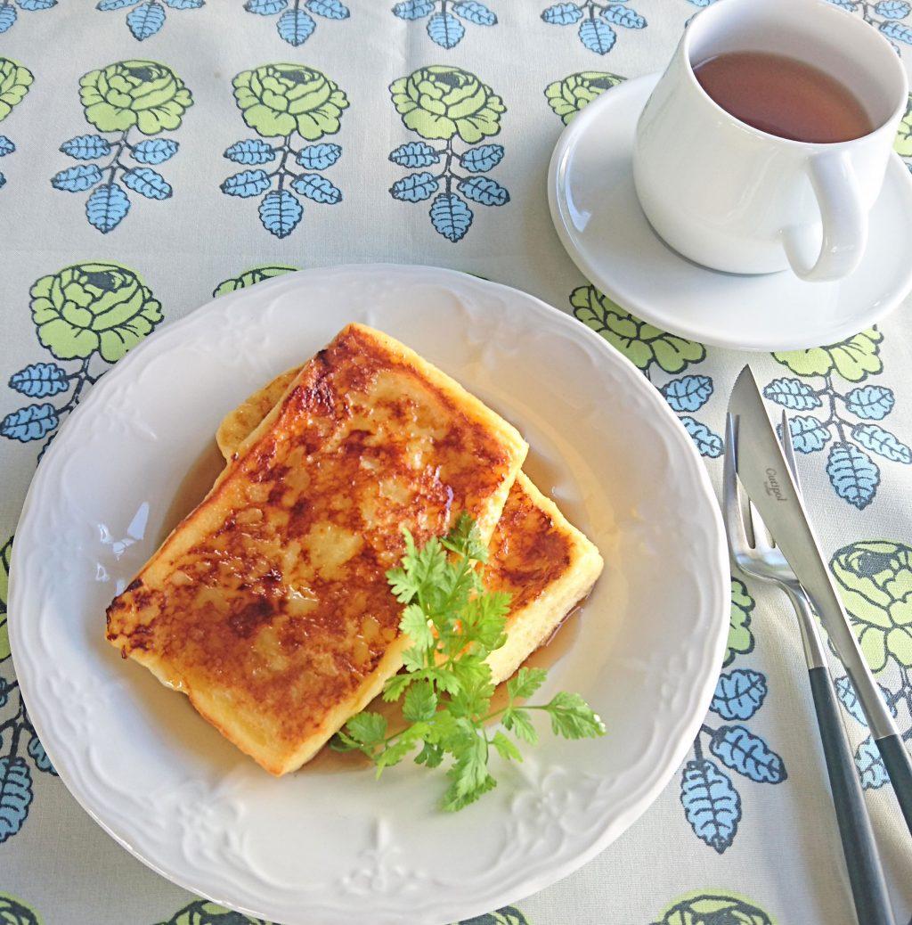 基本のフレンチトーストの画像