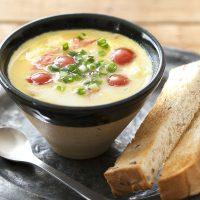 レンジで簡単ふわとろ♪スープの素でできちゃう「洋風茶碗蒸し」